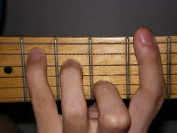 Movable D Major Chord