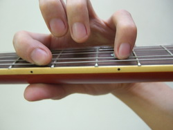 6th string 2 Notes Power Chord Top View