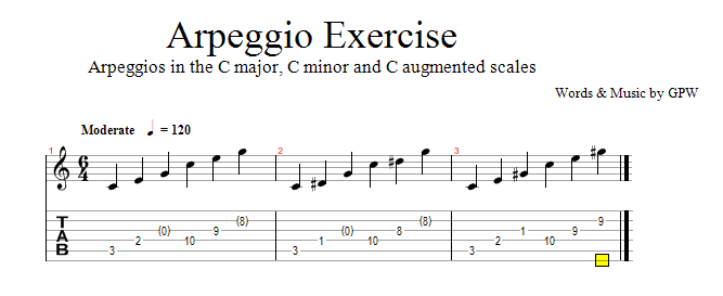 How to Play Guitar Arpeggios In Under 15 Minutes