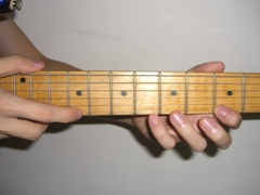Guitar Tapping exercise 2