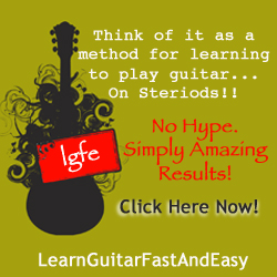 Lead guitar lessons 3