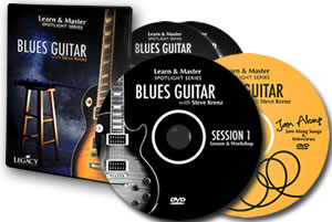 Learn And Master Blues Guitar Dvd Course