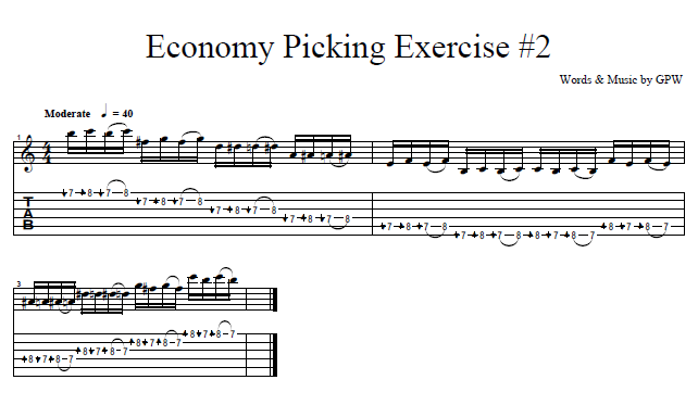 Learn Economy Picking Exercise