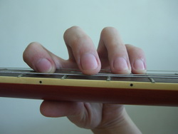 Middle Finger Mute Power Chord