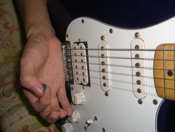 Palm Muting Guitar Technique Example