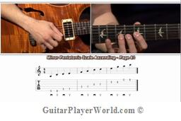 guitar scales nate savage